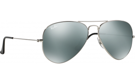 1e1a0a714a Ray-ban 3025 Aviator Silver Mirror 003 59 58 Polarised