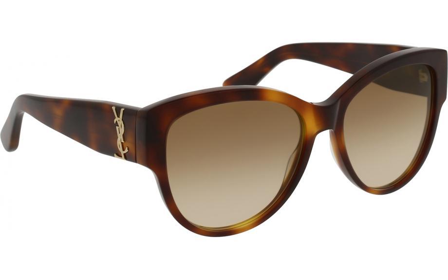 415f545e18a72 Saint Laurent SL M3 005 55 Güneş gözlükleri - Ücretsiz Nakliye   Gölge  İstasyonu